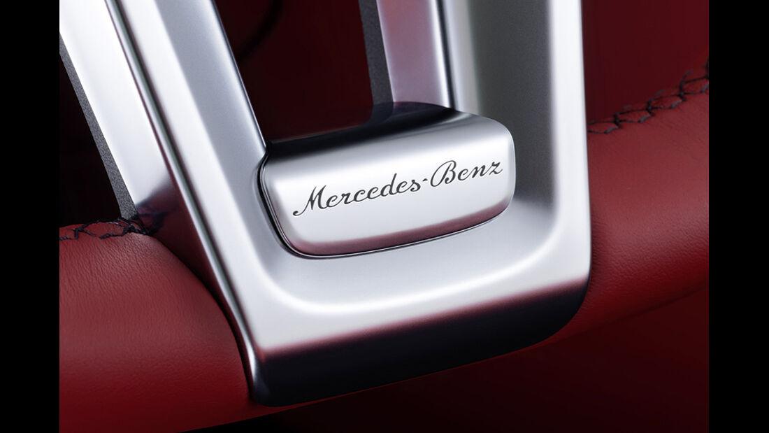 12/2011 Mercedes SL, Lenkradspeiche