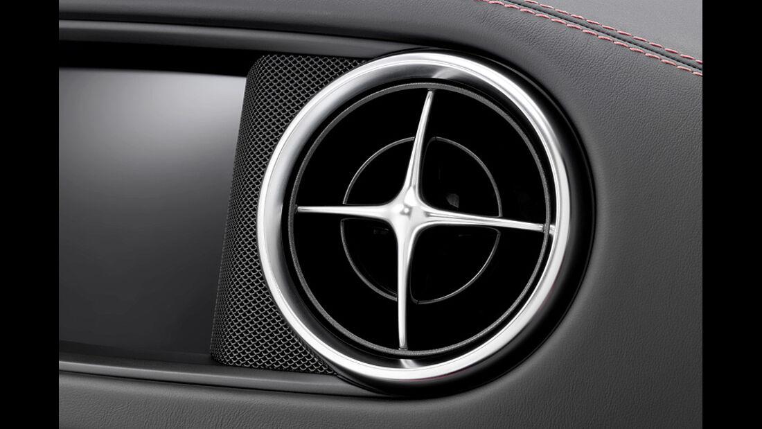 12/2011 Mercedes SL, Lüfterdüse