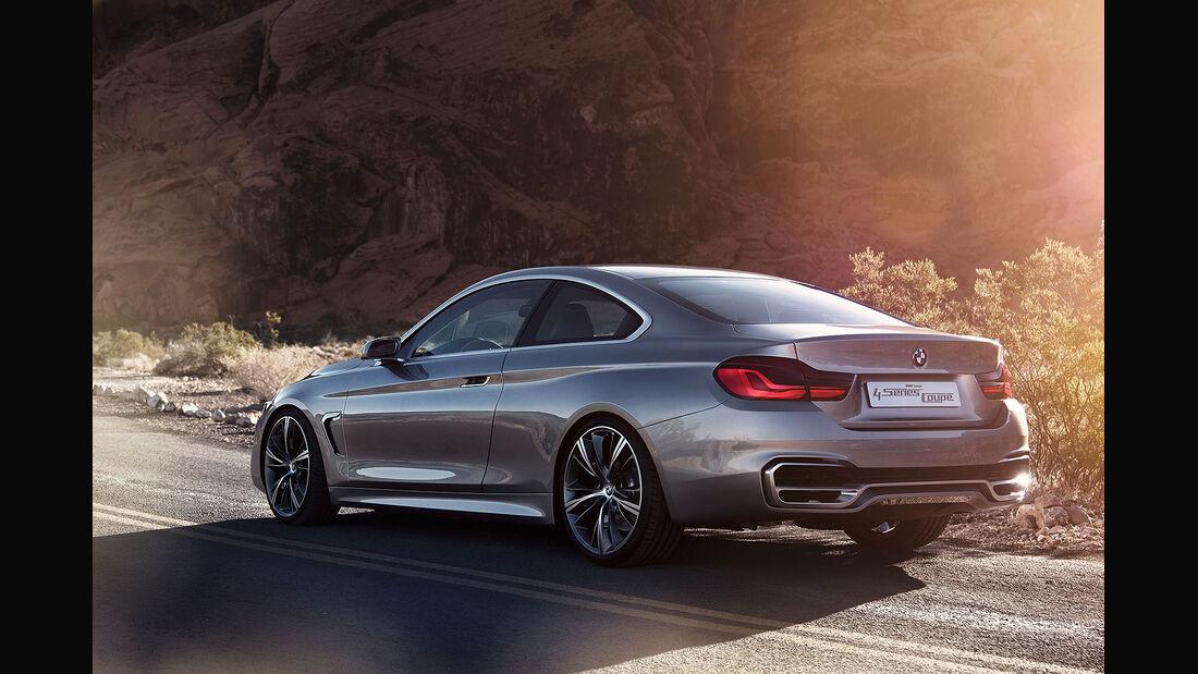 12/2012 BMW Concept 4er Coupé