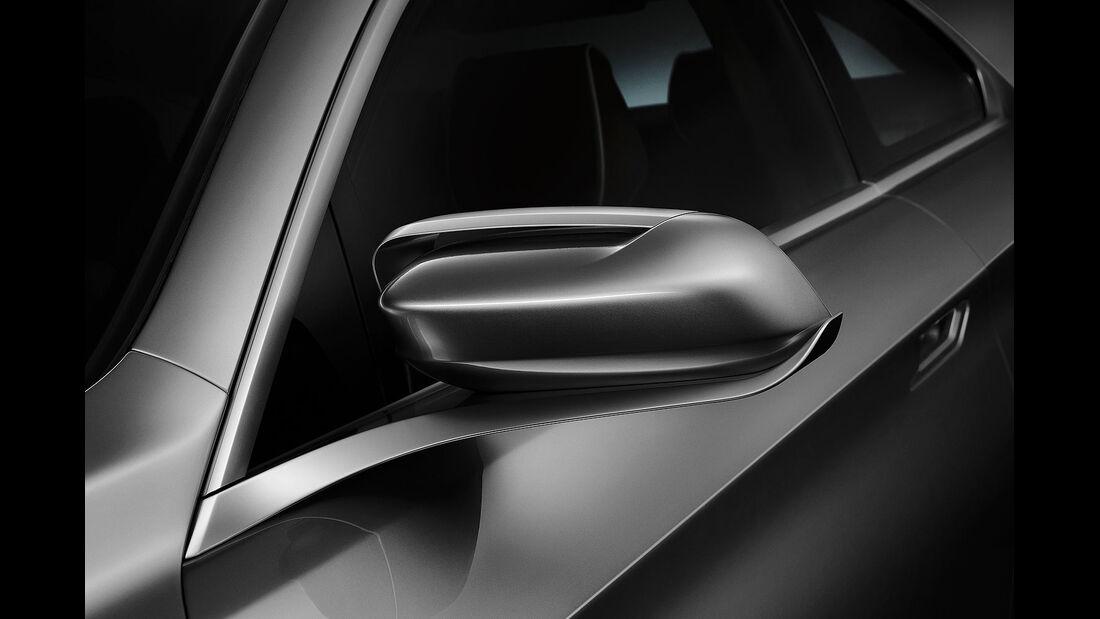 12/2012 BMW Concept 4er Coupé, Außenspiegel