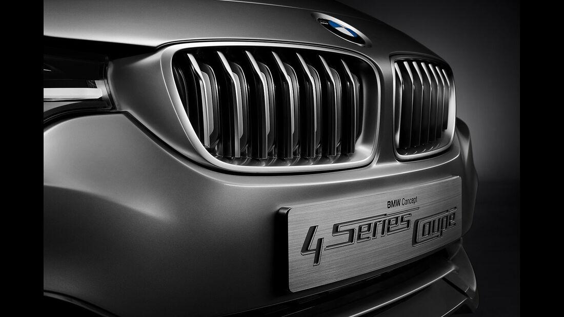 12/2012 BMW Concept 4er Coupé, Kühlergrill