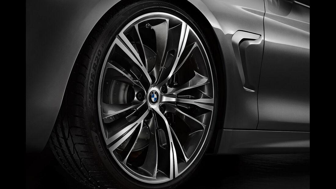 12/2012 BMW Concept 4er Coupé, Rad