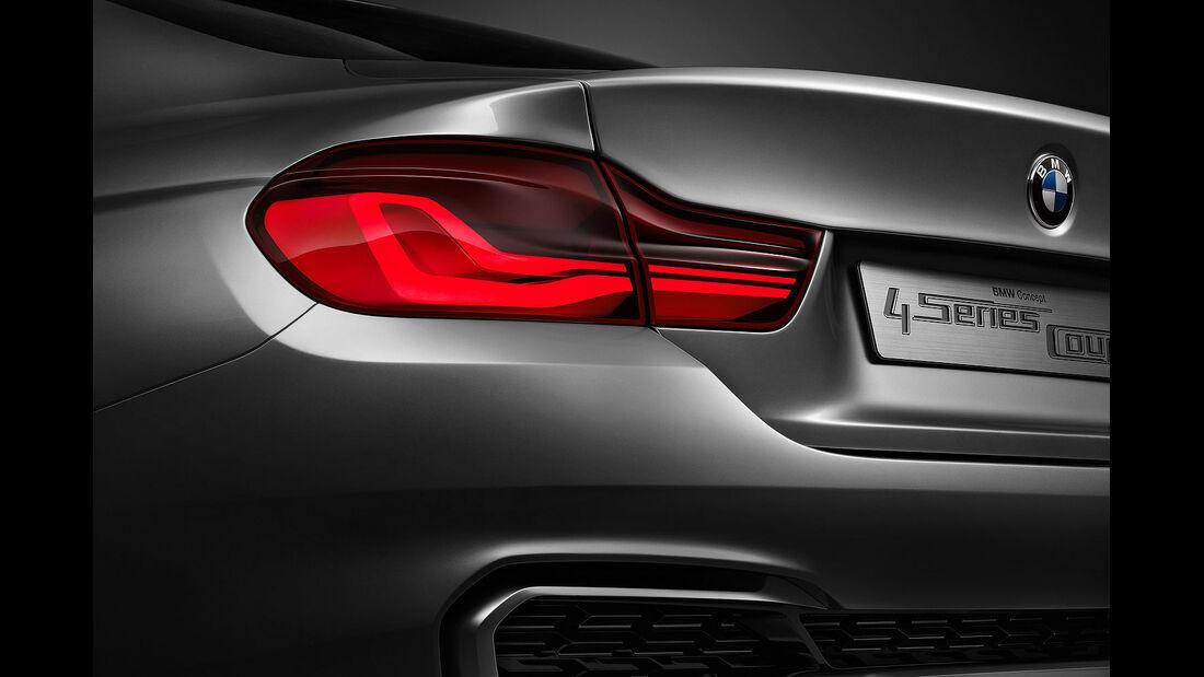 12/2012 BMW Concept 4er Coupé, Rückleuchten