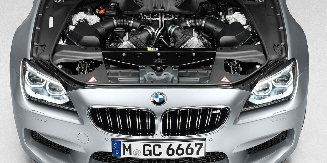 12/2012 BMW M6 Gran Coupé, Motor