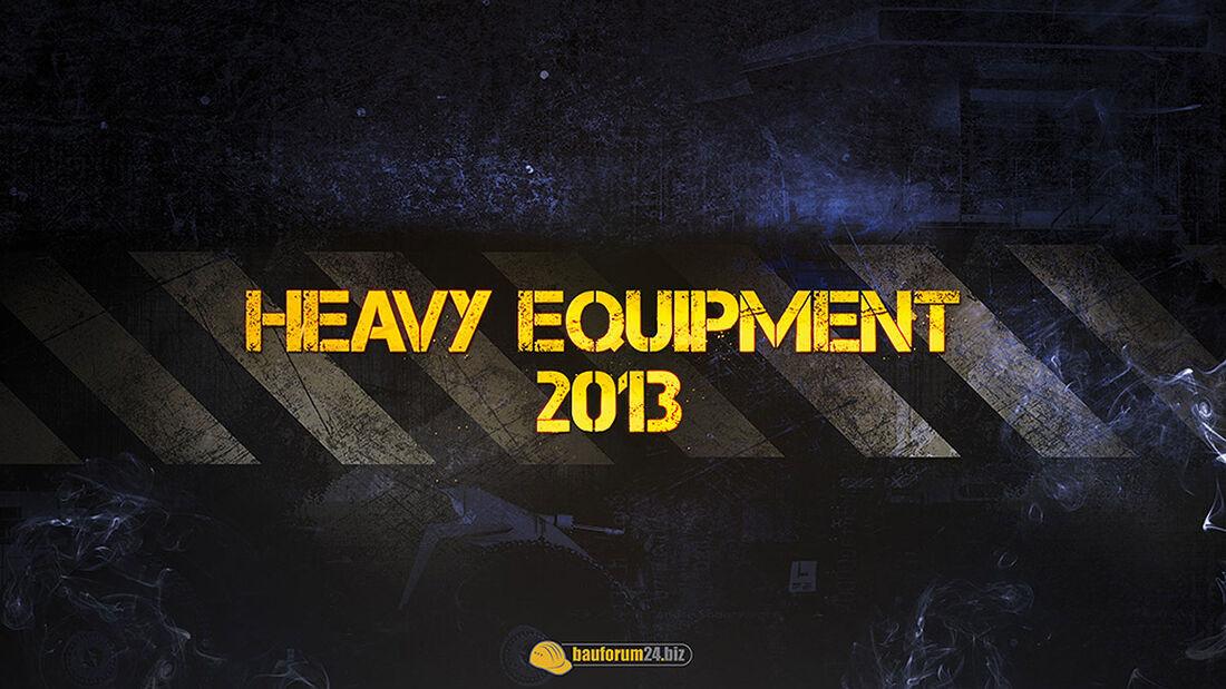 12/2012 Heavy Equipement Kalender 2013, Baumaschine