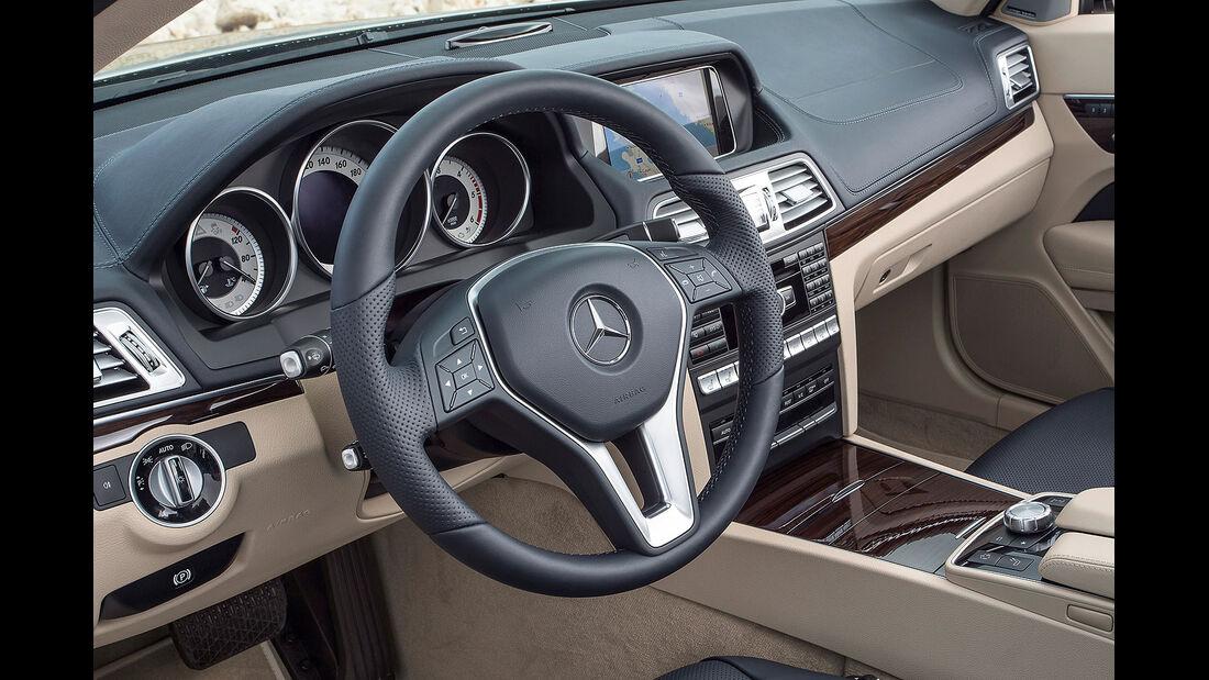 12/2012 Mercedes E-Klasse Cabrio, Innenraum