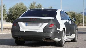 12/2012 Mercedes S-Klasse Erlkönig