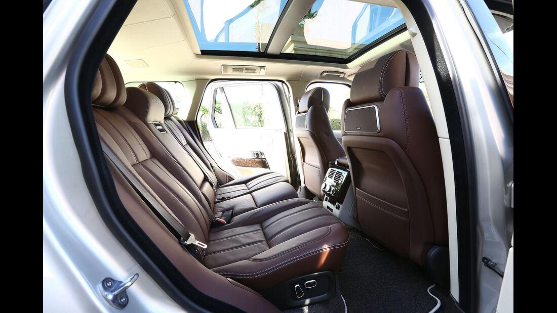 12/2012 ams27/2012, Fahrbericht Range Rover, Fond, Rückbank