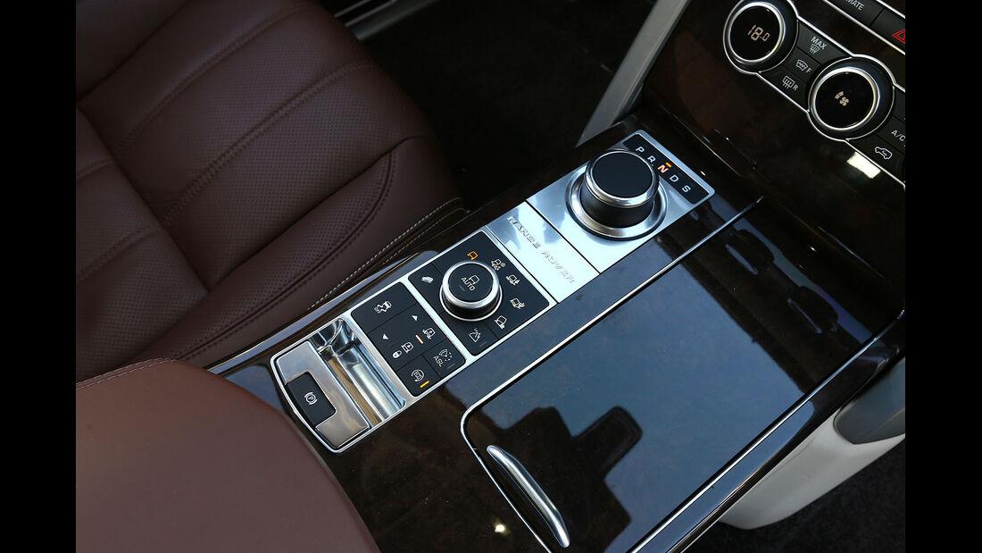 12/2012 ams27/2012, Fahrbericht Range Rover, Mittelkonsole