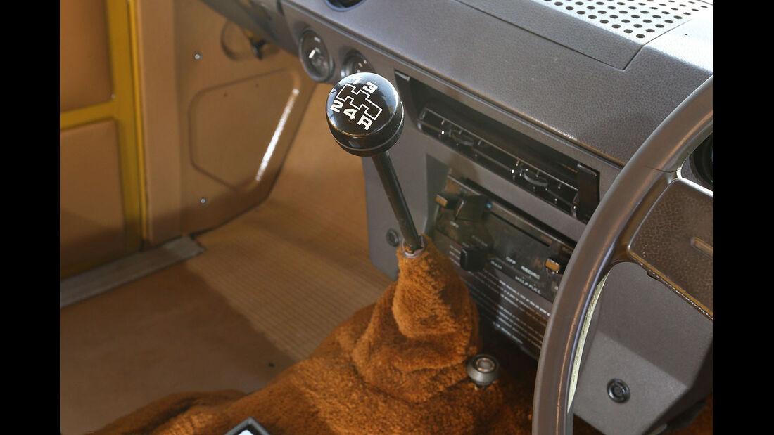 12/2012 ams27/2012, Fahrbericht Range Rover, Schalthebel
