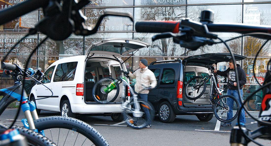 12/2012 ams27/2012, Vergleichstest Mercedes Citan 109 CDI VW Caddy 1.6 TDI Trendline