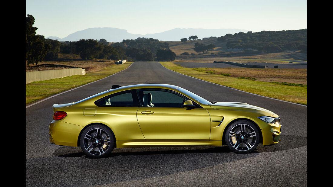 12/2013 BMW M3 und BMW M4 Coupe