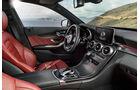 12/2013 Mercedes C-Klasse AMG-Line, Innenraum Sperrfrist 16.12.2013 10.00 Uhr