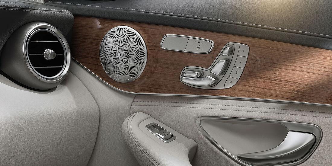 12/2013 Mercedes C-Klasse Exklusive, Innenraum Sperrfrist 16.12.2013 10.00 Uhr