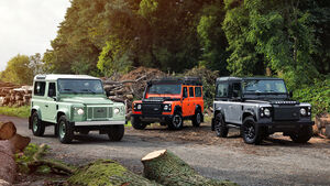 12/2014, Land Rover Defender Limited Edition