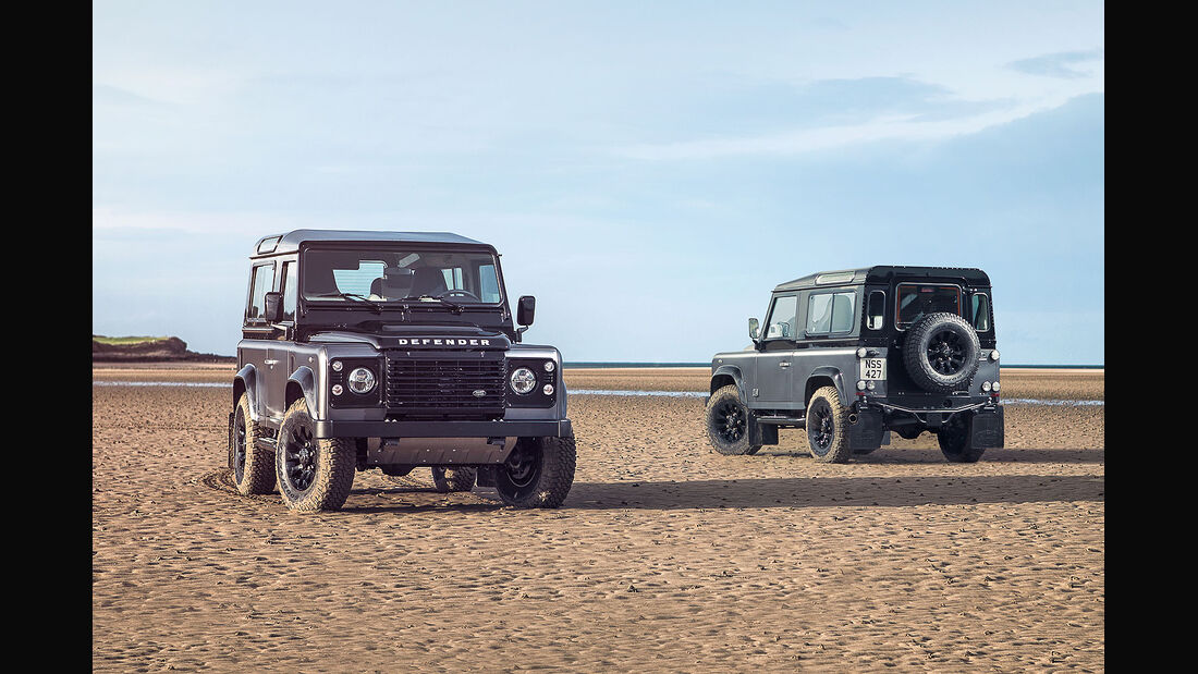 12/2014, Land Rover Defender Limited Edition Autobiography