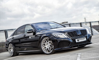 12/2014, Mercedes S-Klasse Prior-Design PD800S