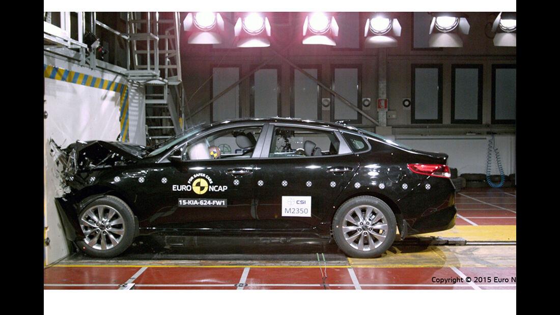 12/2015 EuroNCAP Crashtest Kia Optima