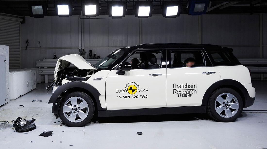 12/2015 EuroNCAP Crashtest Mini Clubman