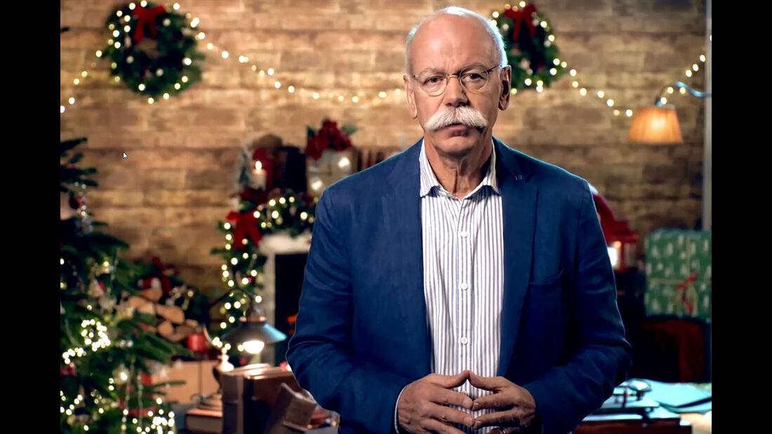 12/2018, Dieter Zetsche Daimler Weihnachtsfilm 2018