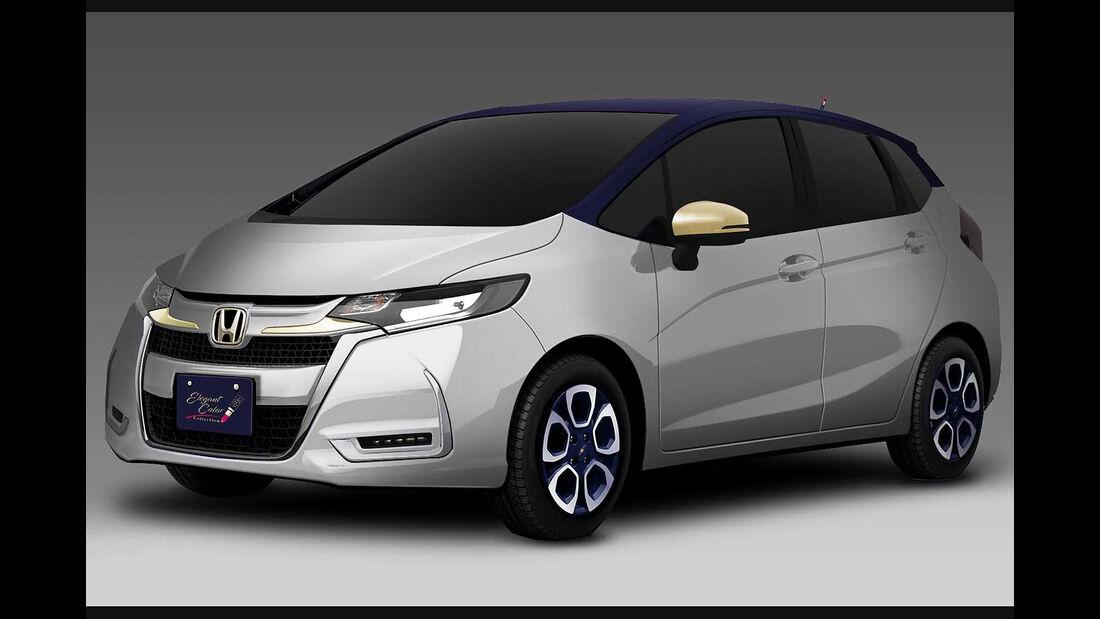12/2018, Honda Fit Elegant Color Concept
