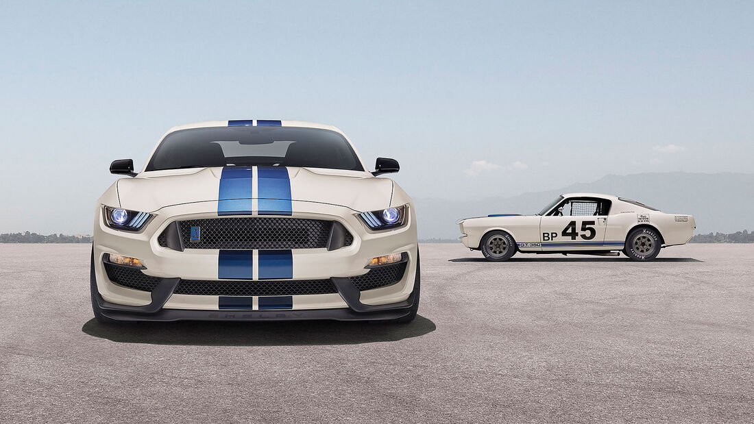 12/2019, Ford Mustang Shelby GT350R Heritage Edition