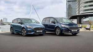 12/2019, Ford S-Max und Galaxy Facelift 2019