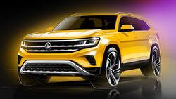 12/2019, VW Atlas Modelljahr 2021
