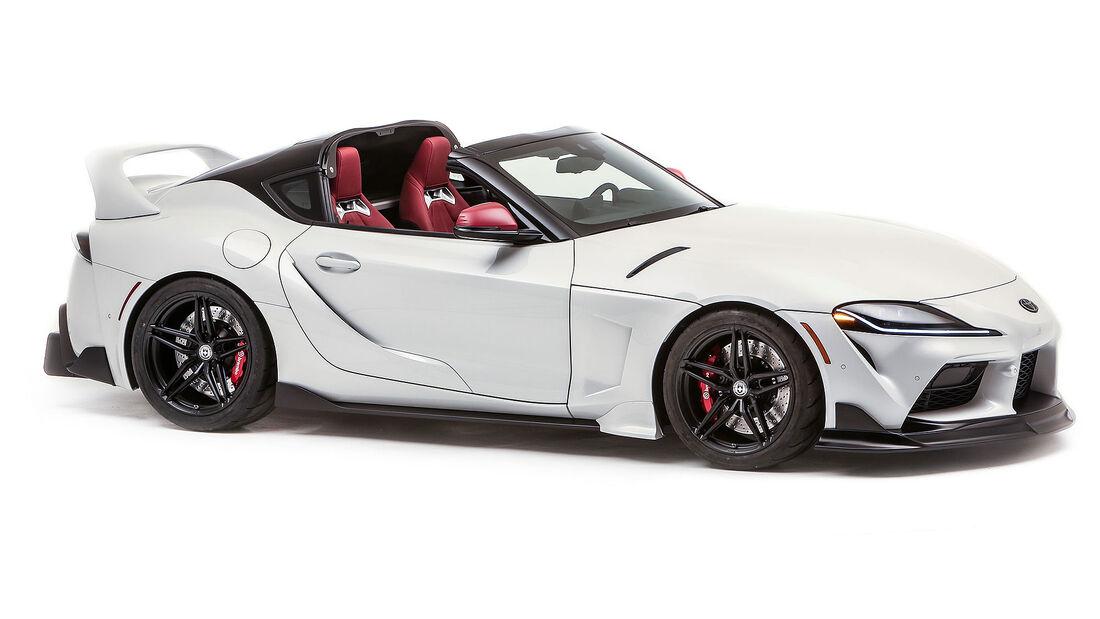 12/2020, 2021 Toyota GR Supra Sport Top