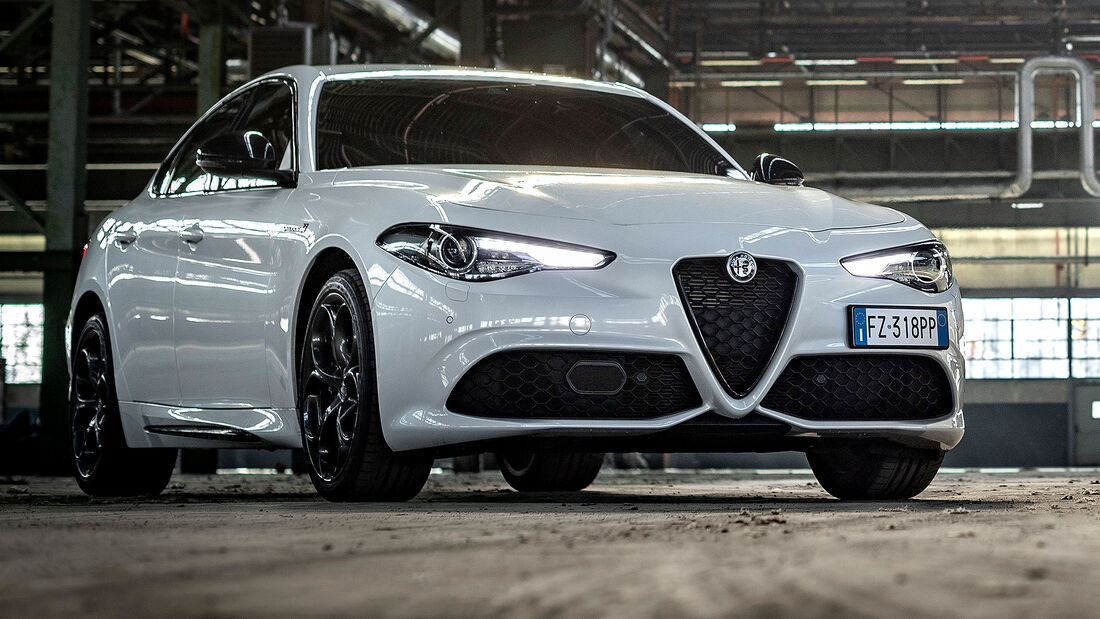 12/2020, Alfa Romeo Giulia Modelljahr 2021