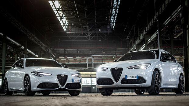 12/2020, Alfa Romeo Giulia Stelvio Modelljahr 2021