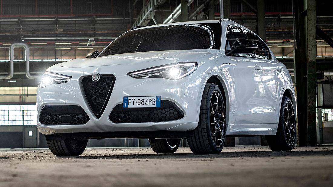 12/2020, Alfa Romeo Stelvio Modelljahr 2021