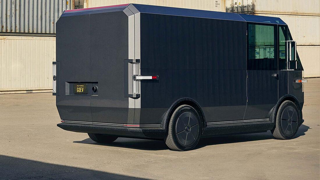 12/2020, Canoo MPDV Elektro Lieferwagen