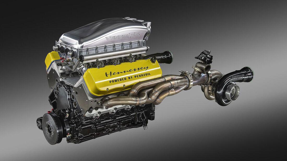 12/2020, Hennessey Venom F5 Motor