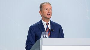 12/2020, Herbert Diess VW Volkswagen Vorstandsvorsitzender