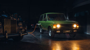 12/2020, Lunaz Design Range Rover Classic Electric