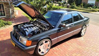 12/2020, Mercedes 190 mit V12-Motor