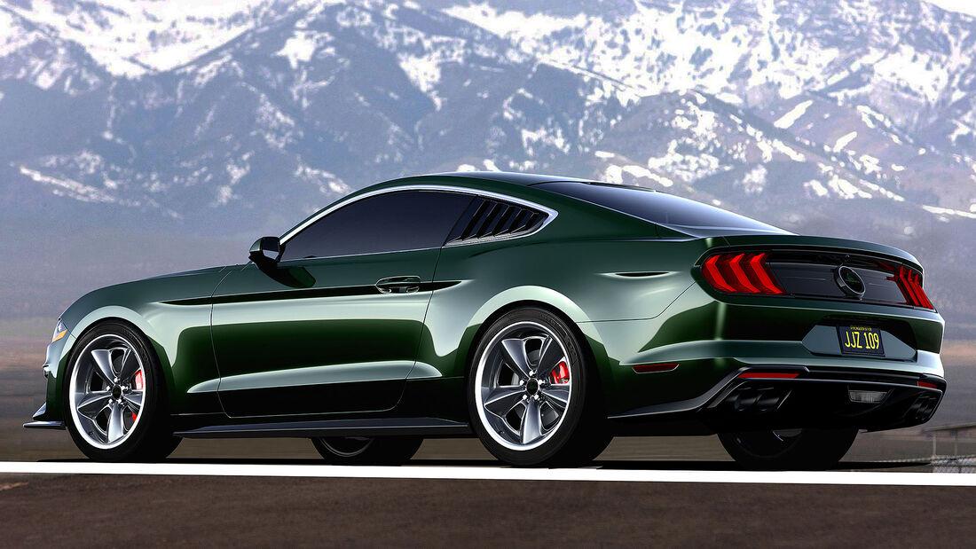 12/2020, Steeda Ford Mustang Bullitt Steve McQueen Edition