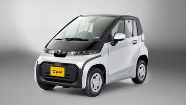 12/2020, Toyota C+Pod Elektro Kleinwagen