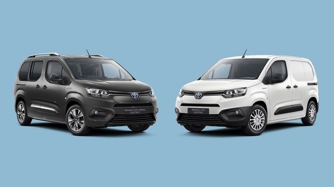 12/2020, Toyota Proace City Electric