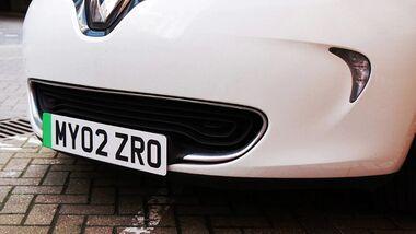 12/2020 UK Green Plate