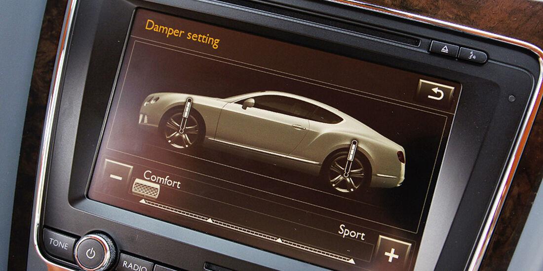1210, Bentley Continental GT, Monitor
