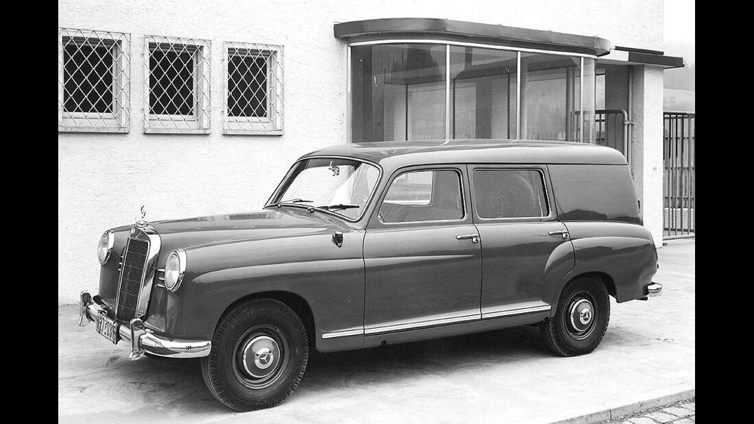 1210, Binz Mercedes E-Klasse T-Modell, langer Radstand , Historie