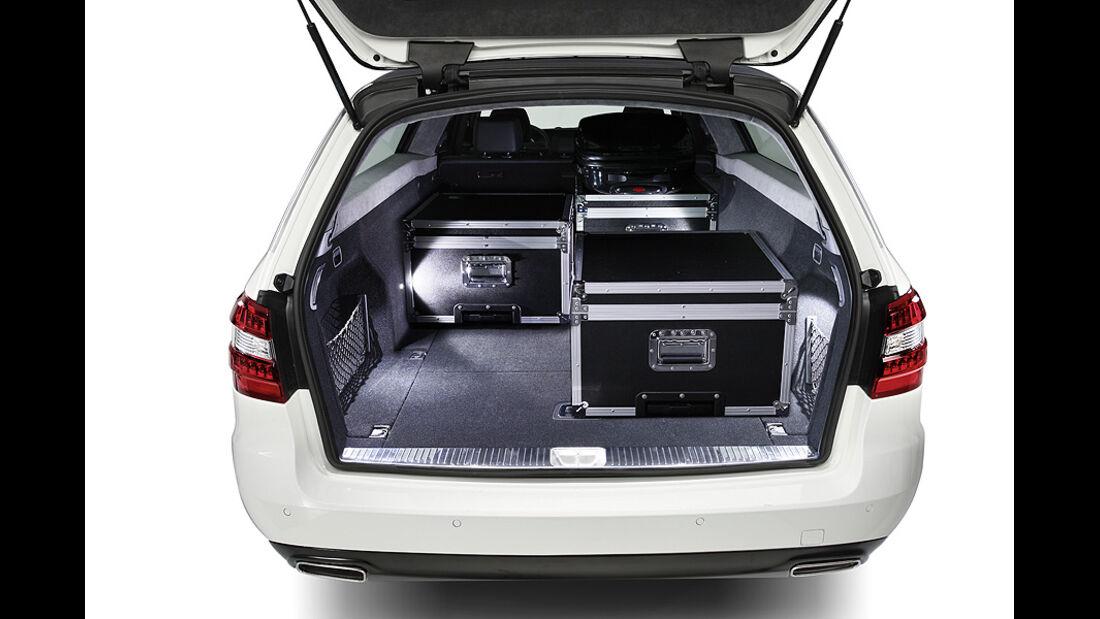1210, Binz Mercedes E-Klasse T-Modell, langer Radstand, Kofferraum