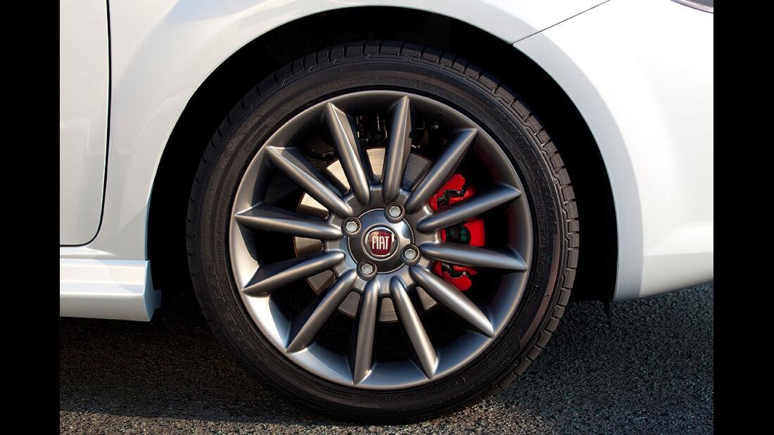 1210, Fiat Punto Evo, Felge Rad, Bremse