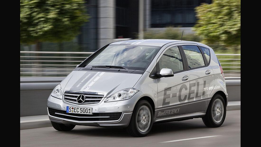 1210, Mercedes A-Klasse E-Cell,