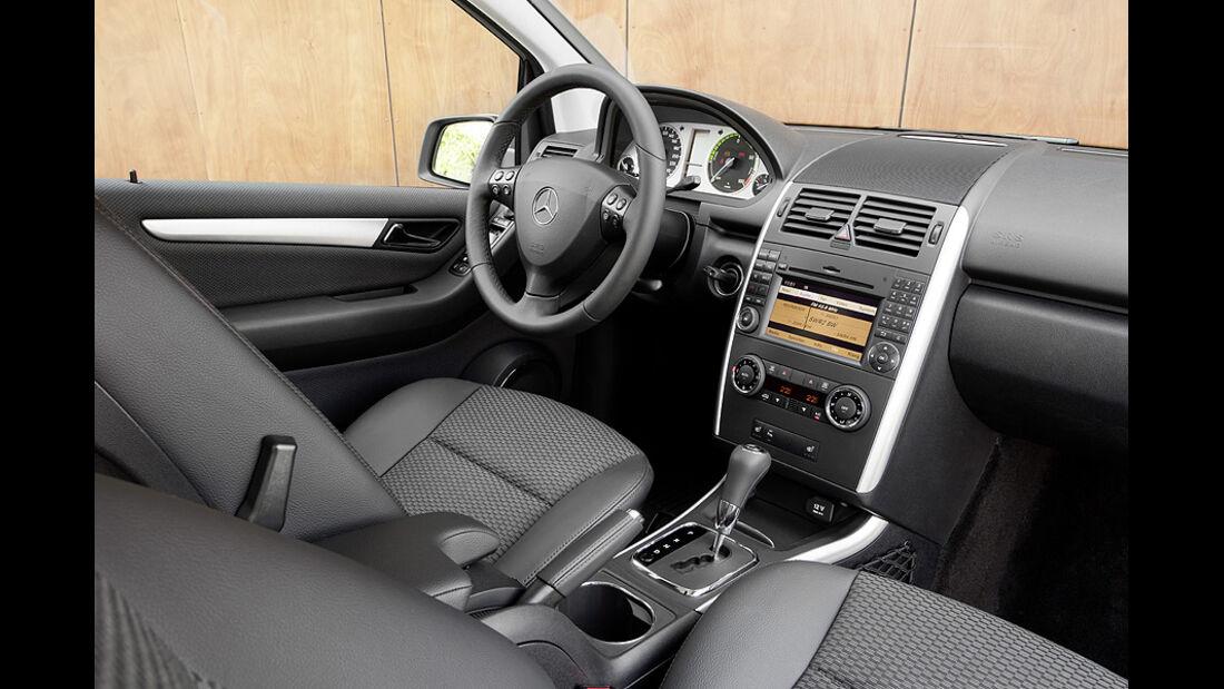 1210, Mercedes A-Klasse E-Cell, Innenraum