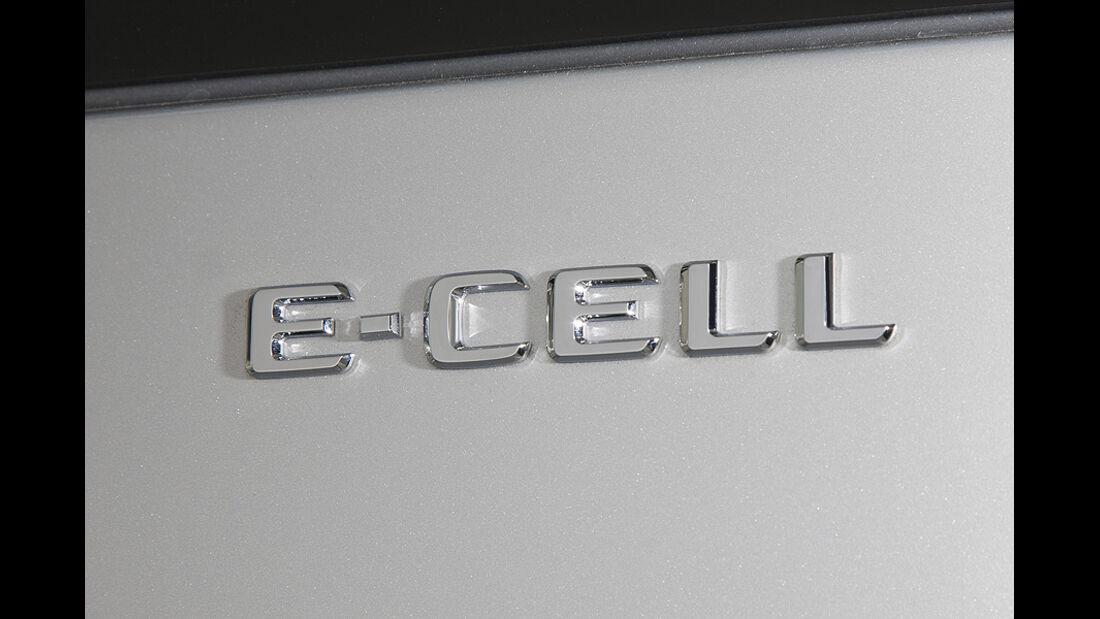 1210, Mercedes A-Klasse E-Cell, Typenschild, Modellbezeichnung