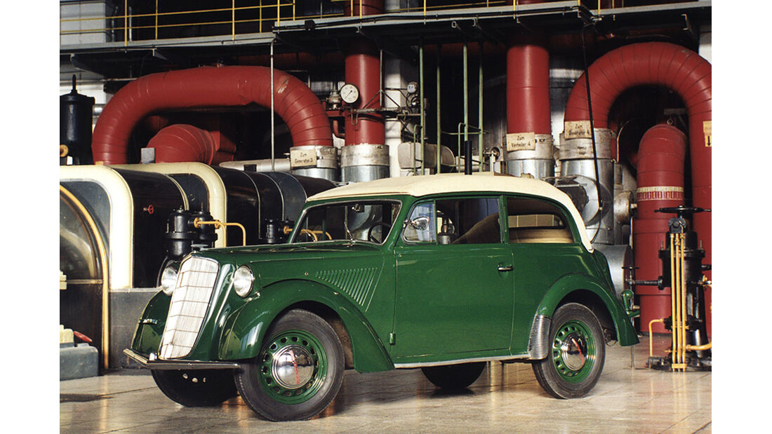 150 Jahre Opel Innovationen, Großserie Olympia