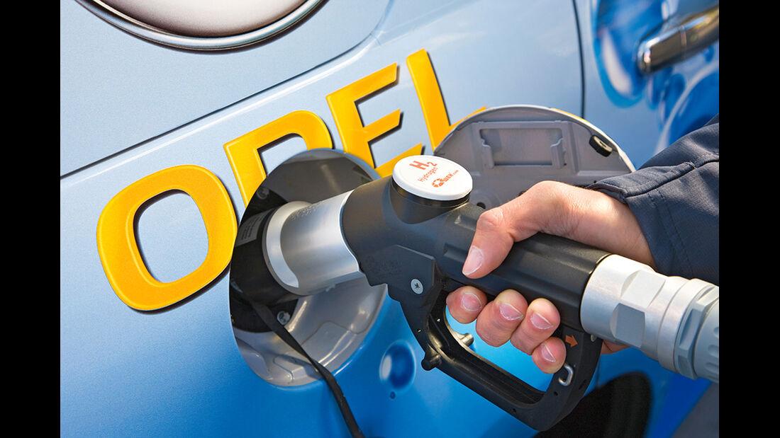 150 Jahre Opel Innovationen, HydroGen4, Brennstoffzelle